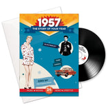 1957 Story of Your Year CD Card Booklet Gift - HerbysGifts.com