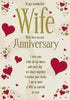 Wife Anniversary Card - HerbysGifts.com