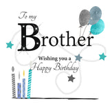 Large Birthday Card Brother - HerbysGifts.com