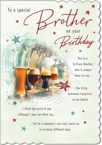 Brother Birthday Card - HerbysGifts.com
