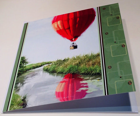 Hot Air Balloon Birthday Card - HerbysGifts.com