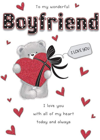 Boyfriend Birthday Card - HerbysGifts.com