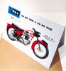 Motorcycles Birthday Card - HerbysGifts.com