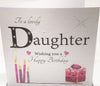 Large Daughter Birthday Card - HerbysGifts.com