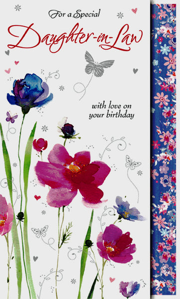 Daughter In Law Birthday Card Birthday Card Daughter In Law Daughter In Law Birthday Card Daughter In Law Card Special Daughter In Law Birthdaycard Greeting Cards Herbys Gifts Cards