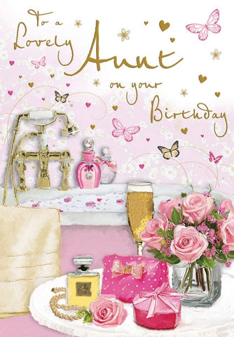 Aunt Birthday Card - HerbysGifts.com