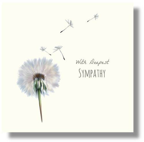 With Deepest Sympathy Card - HerbysGifts.com