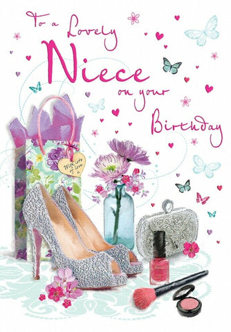 Niece Birthday Card = HerbysGifts.com
