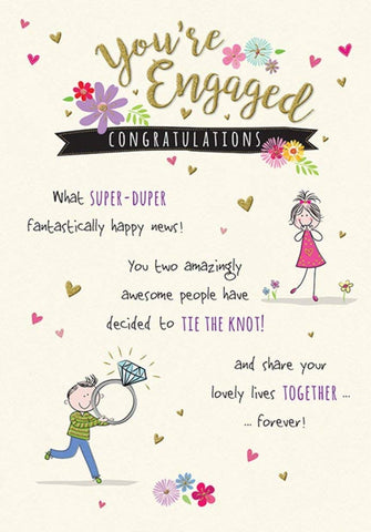 Engagement Card - HerbysGifts.com