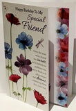 Special Friend Birthday Card - HerbysGifts.com