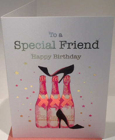 Special Friend Birthday Card - 7 x 5 Inches - HerbysGifts.com