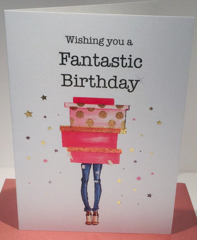 Birthday Card for Female Friend - 7 x 5 Inches - HerbysGifts.com
