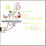 Fabulous Friend Birthday Card - HerbysGifts.com