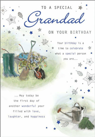 Grandad Birthday Card - HerbysGifts.com