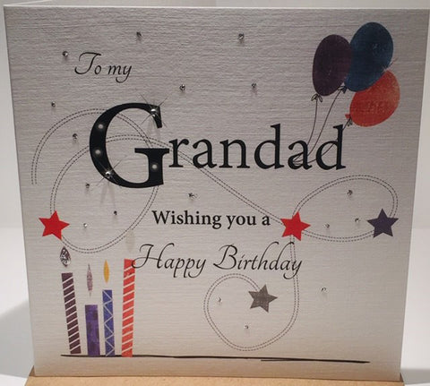 Grandad Happy Birthday Card - HerbysGifts.com