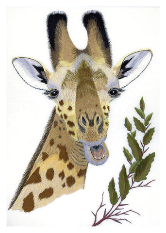 George the Giraffe Greeting Card - HerbysGifts.com