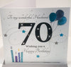 Large 70th Birthday Card - HerbysGifts.com