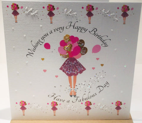 Birthday Card - Have A Fabulous Day - HerbysGifts.com