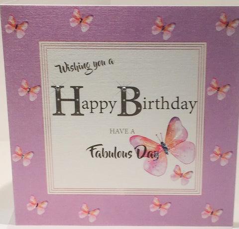 Happy Birthday Card Female Friend