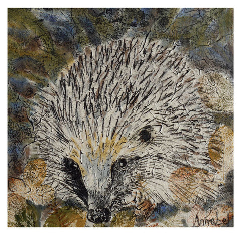 Hedgehog Greeting Card - Blank Inside - 6.5 x 6 Inches - HerbysGifts.com