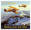 Gypsy Moth Plane Greeting Card - Blank Inside - 6.5 x 6 Inches - HerbysGifts.com