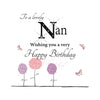 Large Happy Birthday Nan - HerbysGifts.com
