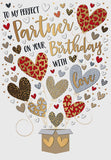 Perfect Partner Birthday Card - HerbysGifts.com