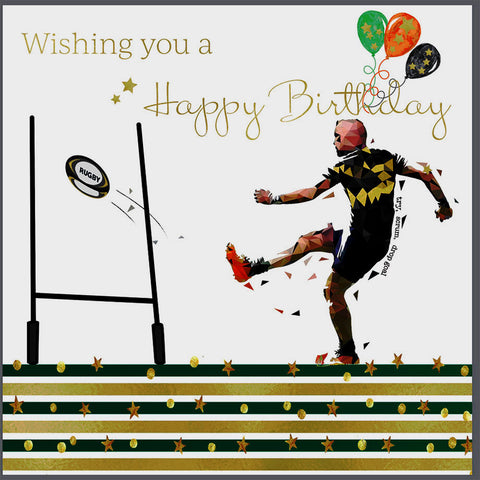 Rugby Birthday Card - HerbysGifts.com