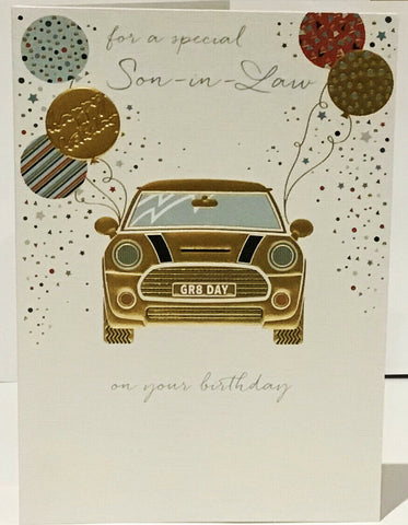 Son-in-Law Birthday Card