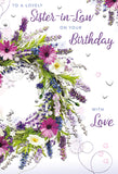 Sister-in-Law Birthday Card - HerbysGifts.com