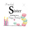 Large Birthday Card Sister - HerbysGifts.com