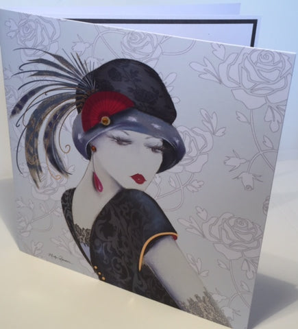 Maranda-Ti Sophia Glamour Birthday Greeting Card - HerbysGifts.com