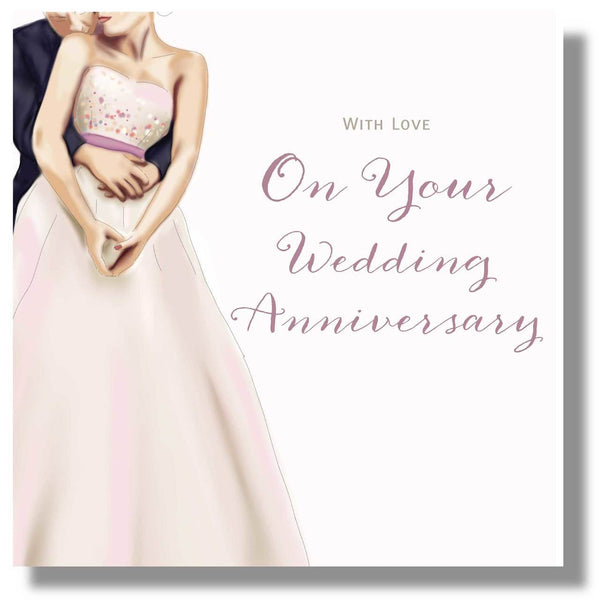 On your wedding anniversary card wedding anniversary card on your wedding anniversary card herbysgifts 825 x 825 inches m4hsunfo