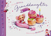 Granddaughter Birthday Card - HerbysGifts.com