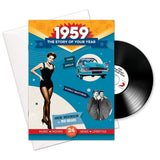 1959 Story of Your Year CD Card Booklet Gift - HerbysGifts.com