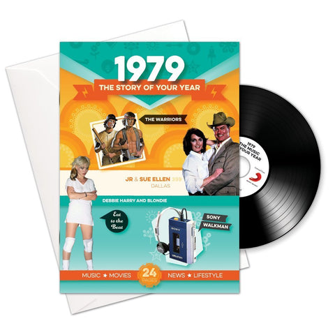 1979 Story of Your Life CD Card Booklet-HerbysGifts.com
