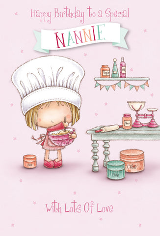 Nannie Birthday Card - HerbysGifts.com