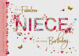 Niece Birthday Card - HerbysGifts.com