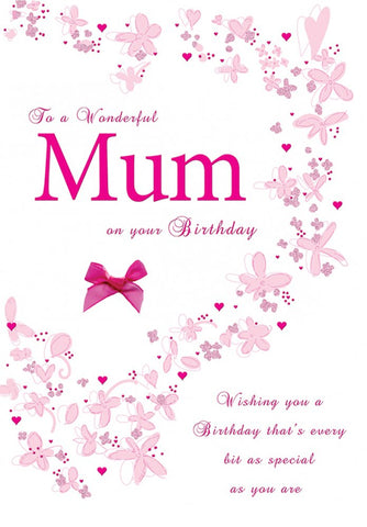 Mum Birthday Card - HerbysGifts.com
