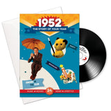 1952 Story of Your Year CD Card Booklet Gift - HerbysGifts.com