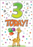 3rd Birthday Card - HerbysGifts.com