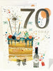 70th Birthday Card Man - HerbysGifts.com