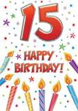 15th Birthday Card - HerbysGifts.com