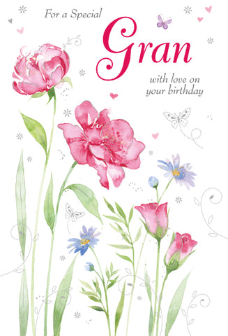 Gran Birthday Card - HerbysGifts.com