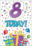 8th Birthday Card - HerbysGifts.com