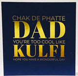 Chak De Phatte Dad Birthday Card - HerbysGifts.com
