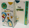30th birthday card for a man - HerbysGifts.com