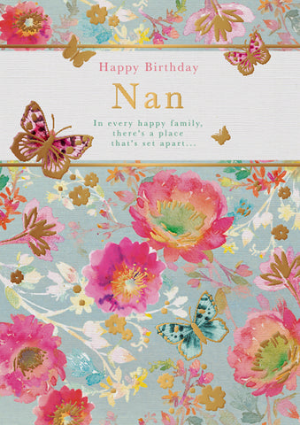 Nan Birthday Card - HerbysGifts.com