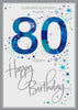 80th Birthday Card Man - HerbysGifts.com