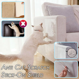 ANTI CAT SCRATCH STICK-ON SHIELD